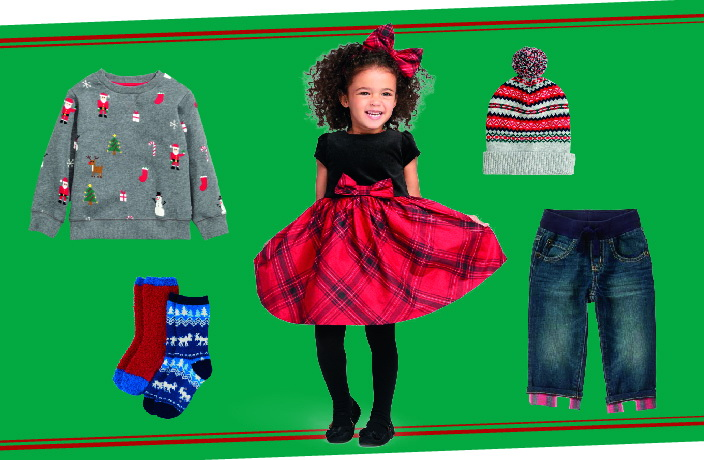 e8ad93100dd4 Kids always look the cutest when they are dressed in their holiday best.  Whether it be a reindeer nighty, a red argyle vest or a festive dress –  we've ...
