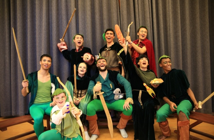 Christmas show Robin Hood opening night this Friday