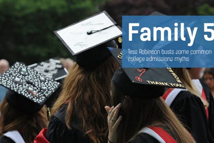 Family 5: College Admissions Myths Busted