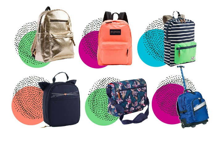 10 Stylish Backpacks & Lunchboxes for School